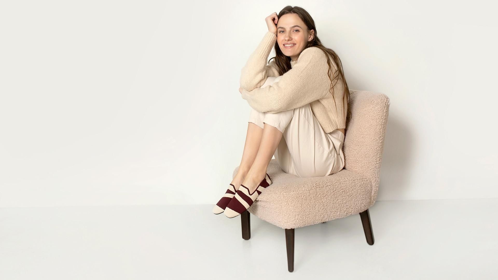 VIVAIA-SustainableShoes-Loafers-Marina-Model