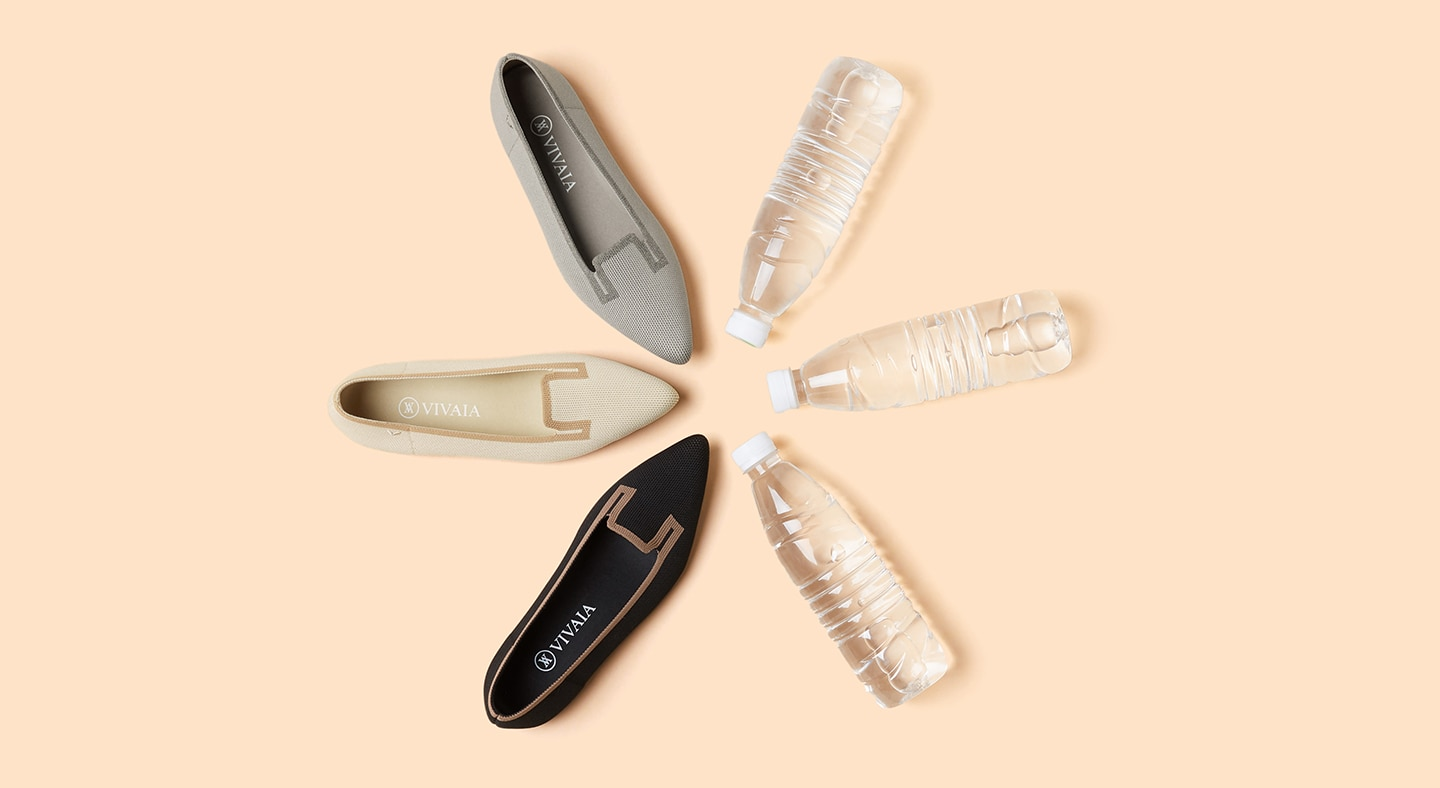 VIVAIA-SustainableShoes-RecyclingBottles