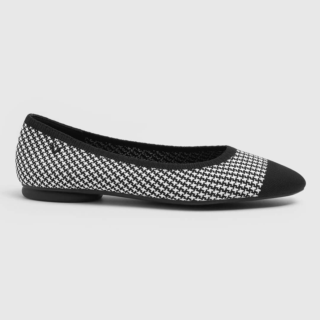 Black Houndstooth - Black Houndstooth EU37.5