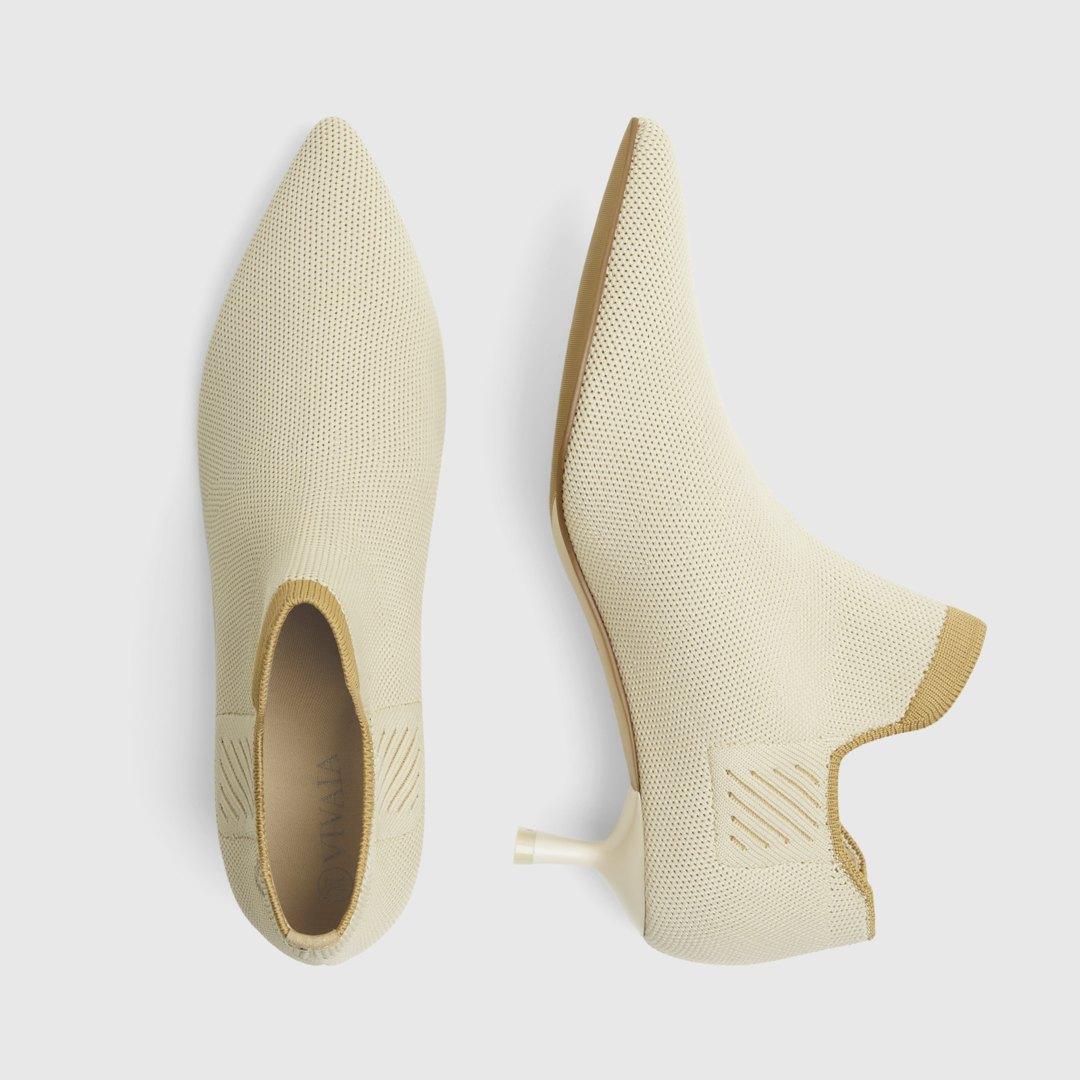 Cream Ivory - Apricot EU36