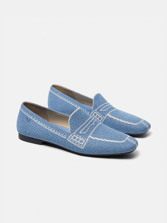 ازرق - Denim Blue EU35
