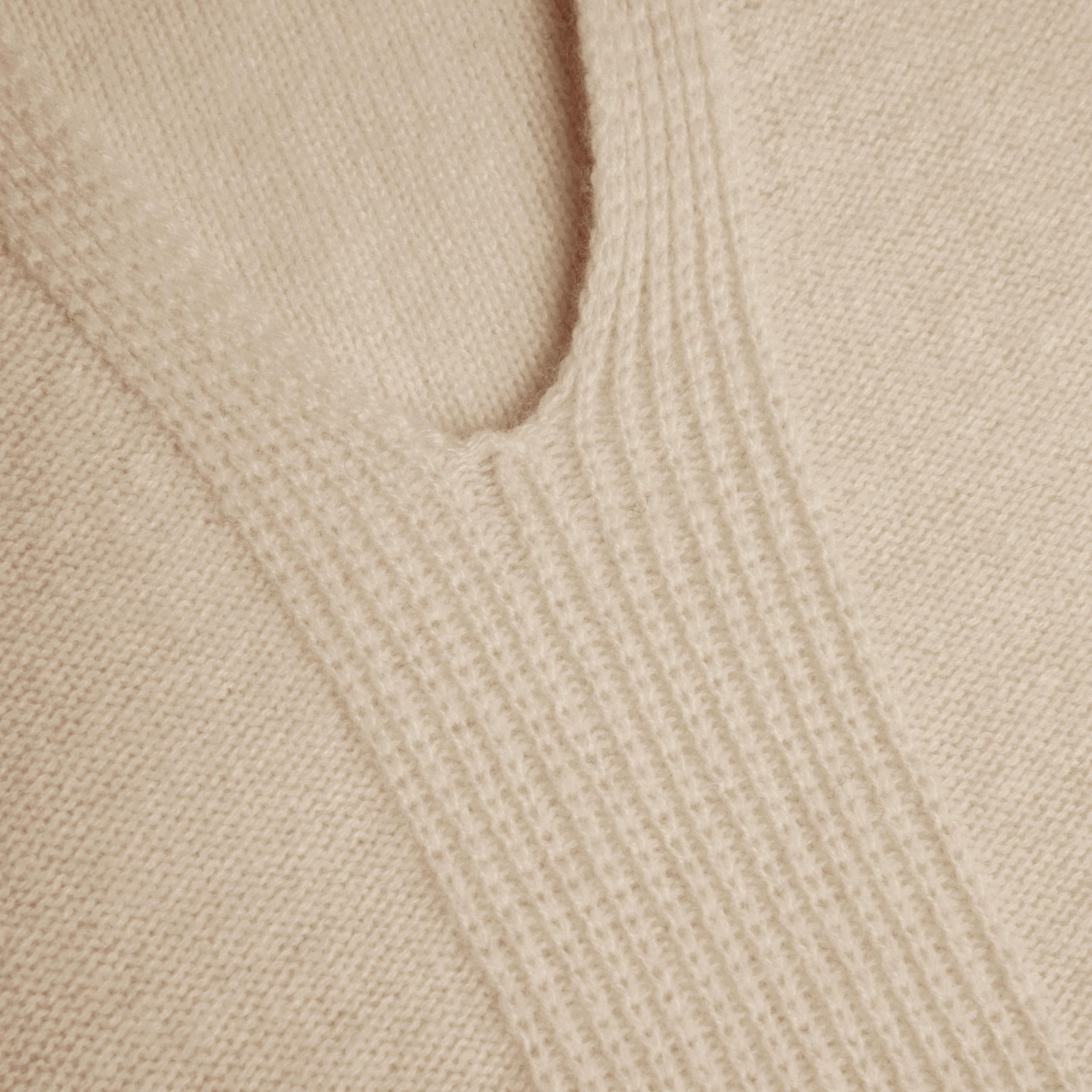 Cashmere Vest-Cream Ivory - Cream Ivory S
