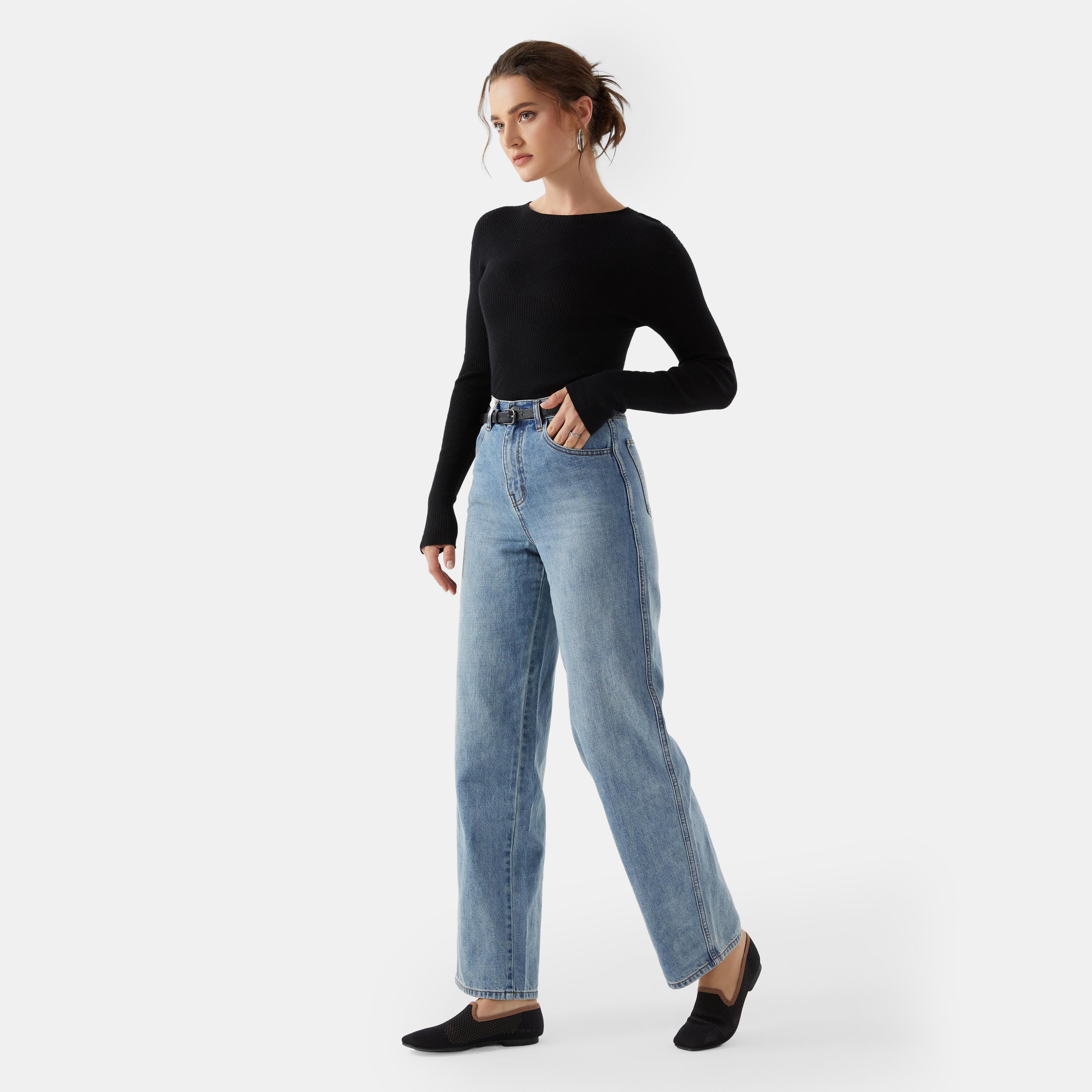 Cashmere Top-Solid Black - Solid Black S