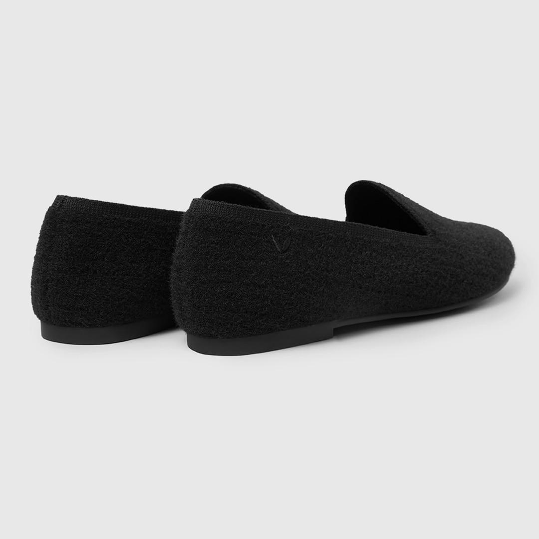 Solid Black-Eco Fluffy Yarn - Schwarz EU39