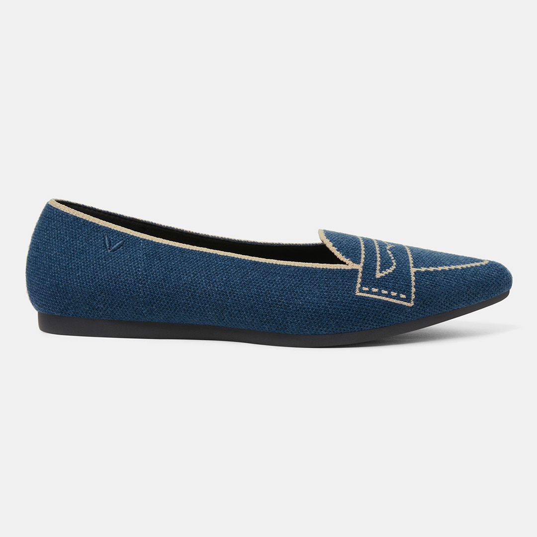 Marine Blue-Wool - Marine Blue EU39